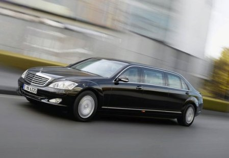 Eastern Europe - Mercedes-Benz S600 Pullman Guard