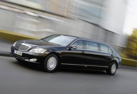 Eastern Europe - Mercedes-Benz S600 Pullman Guard